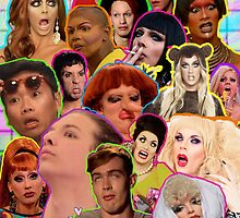 Rpdr Funny queen faces  by ihip2