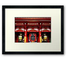 Sensoji Temple, Tokyo Framed Print