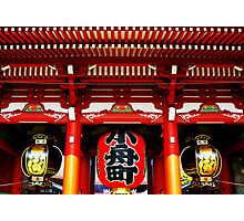 Sensoji Temple, Tokyo Photographic Print