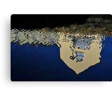 sur le continent killyleagh reflections #4 Canvas Print