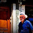 Street Portrait, Venice Italy, #4 by Georgia  Nelson