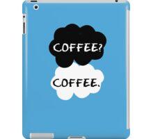Coffee - TFIOS iPad Case/Skin