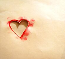 Paper Heart by Bubblegumhead