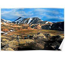 Landmannalaugar Iceland. Poster