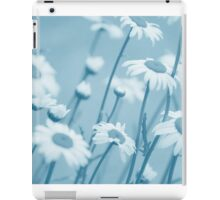 Daisies in Blue #2 iPad Case/Skin