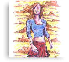 Kara Canvas Print
