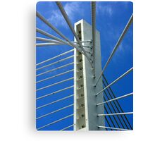 Millennium Bridge, Podgorica Canvas Print