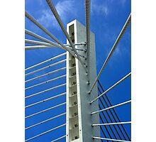 Millennium Bridge, Podgorica Photographic Print