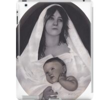 Mother Mary with Baby iPad Case/Skin