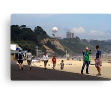 Summers here!!! Canvas Print