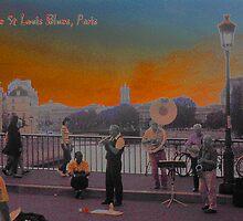 Ile St Louis Blues by Keith Richardson