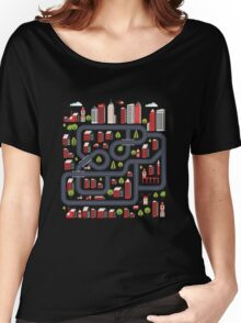 Urban landscape Women's Relaxed Fit T-Shirt
