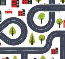 Urban landscape Sticker