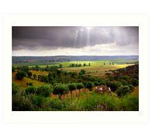 Alentejo Countryside Art Print