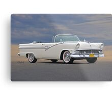 1956 Ford Skyliner Convertible Metal Print