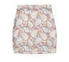book paisley Mini Skirt