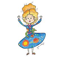 Mrs. Frizzle Photographic Print