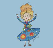 Mrs. Frizzle One Piece - Short Sleeve