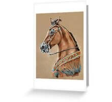 """Native Spirit"" Greeting Card"