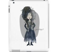 Bellatrix Lestrange iPad Case/Skin