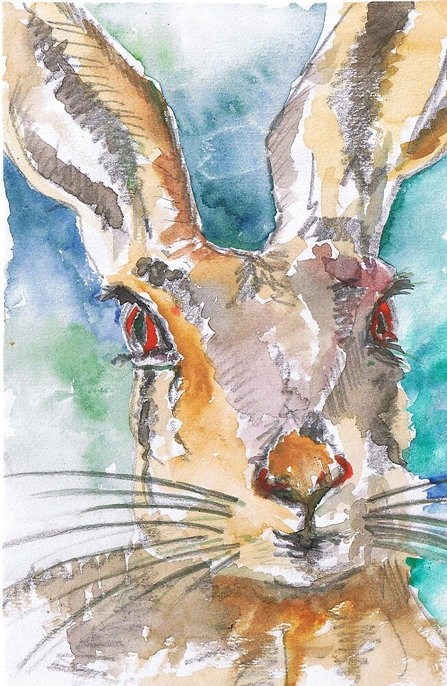 Mad March Hare by Skye Sketches