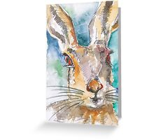Mad March Hare Greeting Card