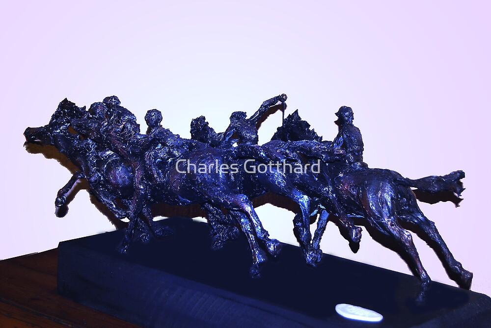 Horse Racing V by Charles Gotthard