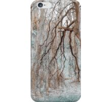 Secret Life of the Willow Tree. Nature in Alien Skin  iPhone Case/Skin