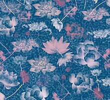 Lotus Print by Linda Allan