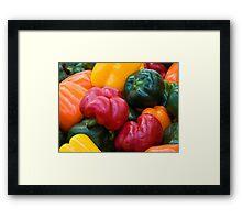 Capsicum Select Framed Print
