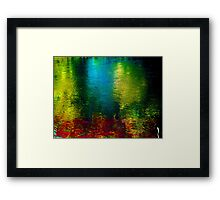 Vertical Rainbow ! Framed Print