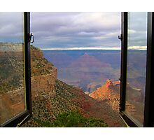 Window to the Canyon Photographic Print