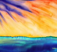 Fire in the Sky by Caroline  Lembke