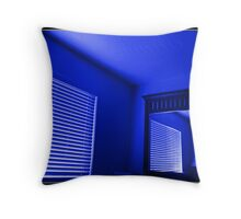 La Camera Indigo Throw Pillow