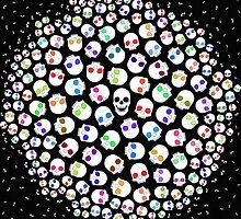 Skulls In Space by Orna Artzi