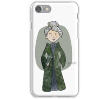 Professor McGonagall iPhone Case/Skin