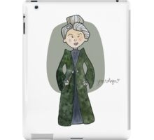 Professor McGonagall iPad Case/Skin