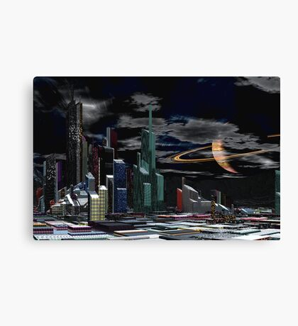 Ringsview in Winter Canvas Print
