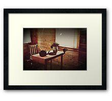 Cracker House (Dining Area) Framed Print