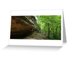 Devil's Standtable Nature Trail #1 Greeting Card