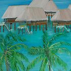 Tropical Island by Monika Howarth by Monika Howarth