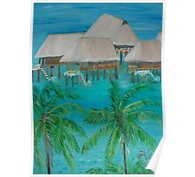 Tropical Island by Monika Howarth Poster
