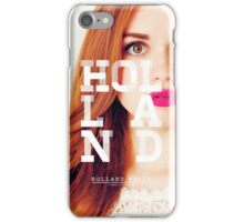 holland roden iPhone Case/Skin