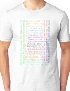 Atlantis BBC Quotes Unisex T-Shirt