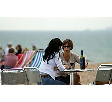 Seaside Gossip Photographic Print