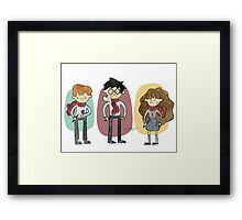 Harry Potter Trio Framed Print