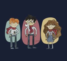 Harry Potter Trio Kids Tee