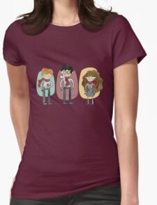Harry Potter Trio Womens Fitted T-Shirt