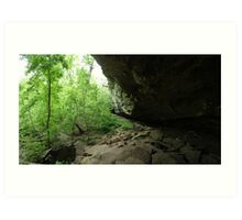 Devil's Standtable Nature Trail #2 Art Print
