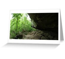 Devil's Standtable Nature Trail #2 Greeting Card
